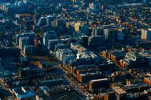 Toronto, Ontario, Canada , Aerial View Of Of Downtown In Toronto, Ontario, Canada