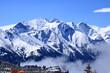 Blick in das Gletschergebiet Hohe Tauern in den Alpen