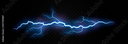 Fotografia Vector lightning, lightning png, thunderstorm, lighting