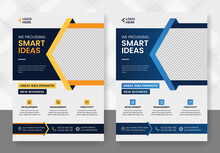 Corporate Business Flyer Template Vector Design, Flyer Poster And Leaflets Layout Fully Editable