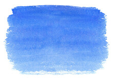 水彩で描いた青空のテクスチャ