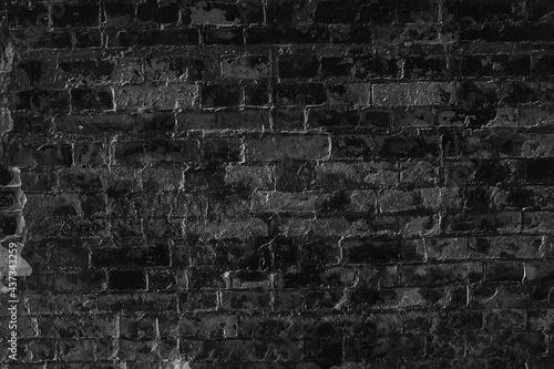 Photo old brick wall background / abstract vintage background, vintage stones, bricks