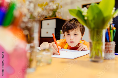 Photo Calming activities for children with down syndrome