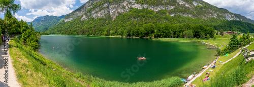 Billede på lærred Reintalersee bei Kramsach in Tirol Österreich Panorama