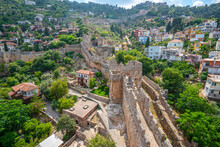 The Alanya Castle Has A Castle Wall Of 6.5 Km Length, 140 Towers, About 400 Cisterns, Doors With Inscriptions And As An Open Air Museum Reflects Seljuk Art At Its Best.