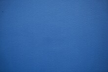 Wall Painted Blue With White Paint