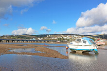 River Teign At Low Tide