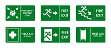 Warning Emergency Sign Vector