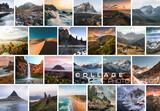 Photo Collage Frame Effect Mockup