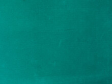 Turquoise Velvet Fabric Texture Used As Background. Empty Turquoise Fabric Background Of Soft And Smooth Textile Material. There Is Space For Text.