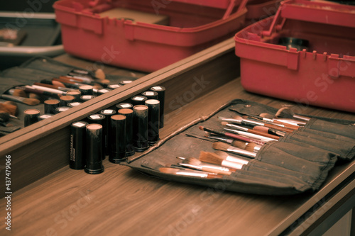 makeup case Fototapet