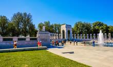 World War II Memorials, Washington D.C., USA,