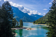 Lago Del Predil. Italy