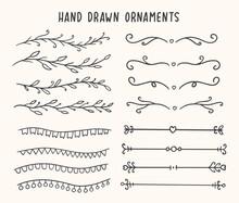 Hand Drawn Ornament Vector