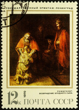 Picture Return Of The Prodigal Son, By Rembrandt