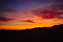 Atardecer En El Desierto De La Atacama, Chile