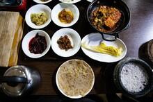 한정식, 한국음식, 한국전통음식, 식사,