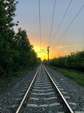 Railway In The Morning