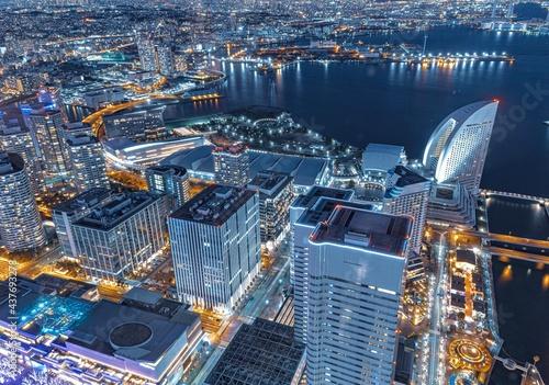 Canvastavla 横浜の夜景
