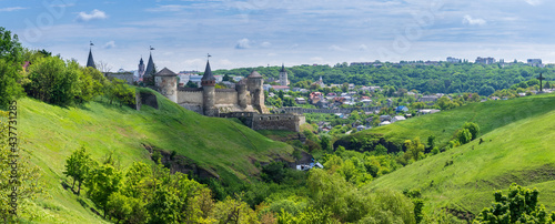 Canvas Kamianets-Podilskyi is a city in western Ukraine