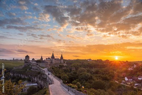 Foto Kamianets-Podilskyi is a city in western Ukraine