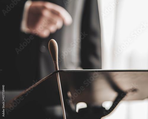 Canvas Print Director de orquesta