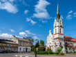 Stryi, Ukraine - May, 2021: Church of Our Lady Protectress, Polish Roman Catholic Church in Stryi, Prykarpattia region, Lviv Oblast, Ukraine.