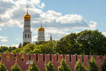 Ivan The Great Bell Tower On The Territory Of The Moscow Kremlin