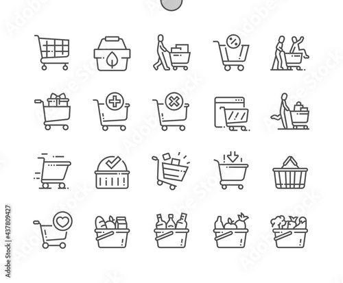 Fotografie, Obraz Shopping cart
