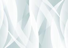 カーブする灰色のグラデーションの抽象背景