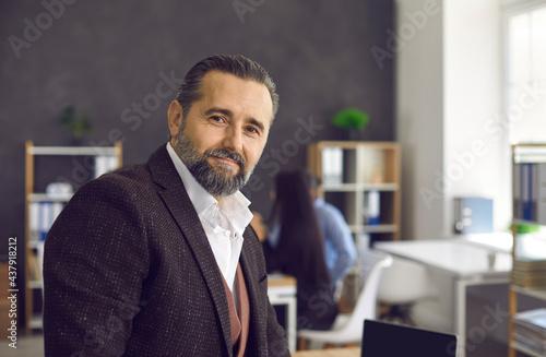 Fotografie, Obraz Portrait of a good-looking senior business executive and professional entrepreneur