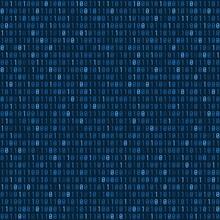 Binary Code Seamless Vector Texture. Vector Background.