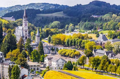 Obraz na płótnie Basilique de Lourdes