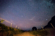 Stars Over The Country Road