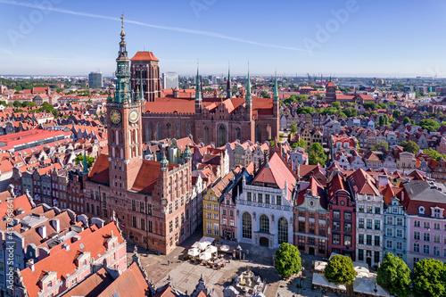 Old town of Gdańsk, Poland.