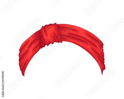 Canvastavla Retro headband for woman