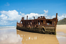 The SS Maheno Shipwreck Is Situated On Fraser Island On The East Coast Of Australia, And One Of The Highlights Of Any Visit Here. It Sits On The Shore Of 75 Mile Beach, Where Is Has Lived Since 1935.