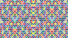 Colorful Chevron Zig Zag Pattern Background For Wallpaper