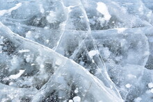 Star Cracked In Ice