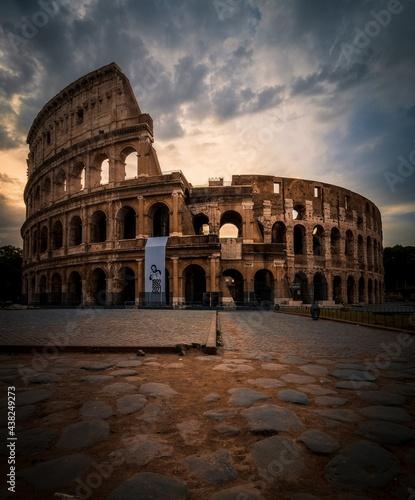 Canvastavla Colosseo
