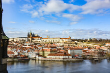 Prag Brückenpfeiler Wasser Stadt