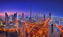 Dubai At Sunrise