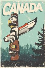 Canadian Vintage Card