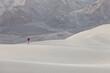 Leinwandbild Motiv Hike in the desert