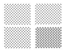 Diamond Plate Metal Texture Background. Strong Diamond Steel Sheet Metal Texture Pattern.