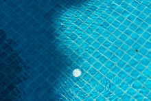 Ripple Water In Swimming Pool Background