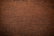 Quality Wood Background. Dark Texture Of Boards, Top View