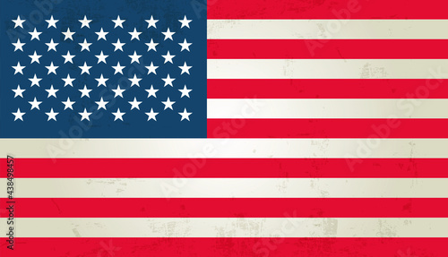 Foto original and simple United State of America flag isolated vector in official col