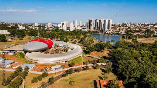 Canvas-taulu Aerial view of the Parque das Nações Indígenas