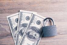 Lock On Dollar Bills